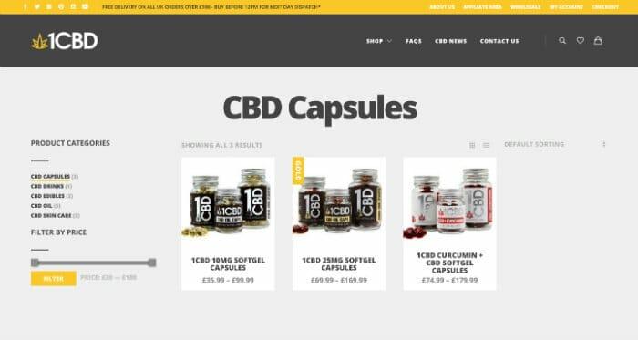 1CBD Capsules
