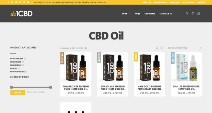1CBD Oils