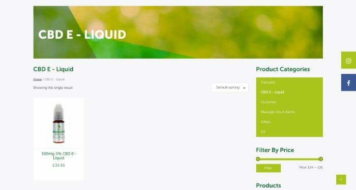 Synerva CBD E-Liquid