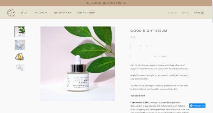 Maah Skin Good Night Serum