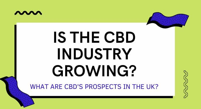 Is The CBD Industry Growing? What Are CBD's Prospects In The UK?