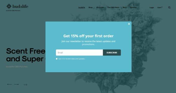 Budslife Discount Code