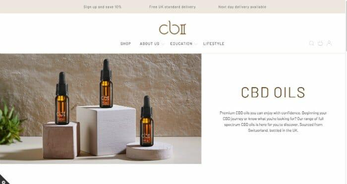 CBII CBD Oils