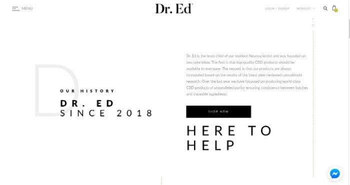 Dr. Ed CBD Oils Discount Code