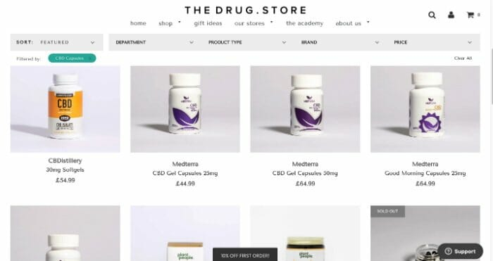 TheDrug.Store CBD Capsules