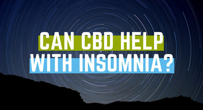 Can CBD Help With Insomnia?
