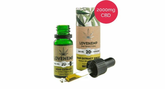 Love Hemp 20% CBD Oil