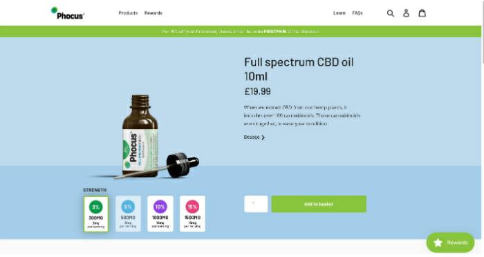 Phocus Full Spectrum CBD Oil