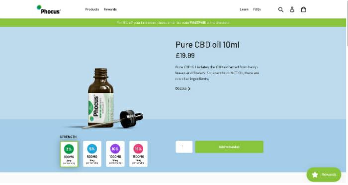 Phocus Pure CBD Oil