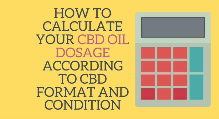 How To Calculate Your CBD Oil Dosage According To CBD Format And Condition