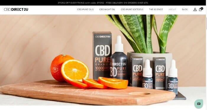 CBDDirect2U Discount Code