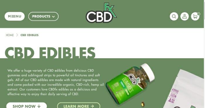 CBDfx Edibles