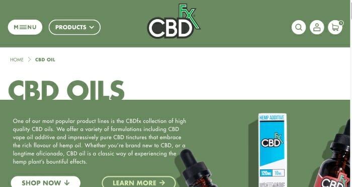 CBDfx Oils