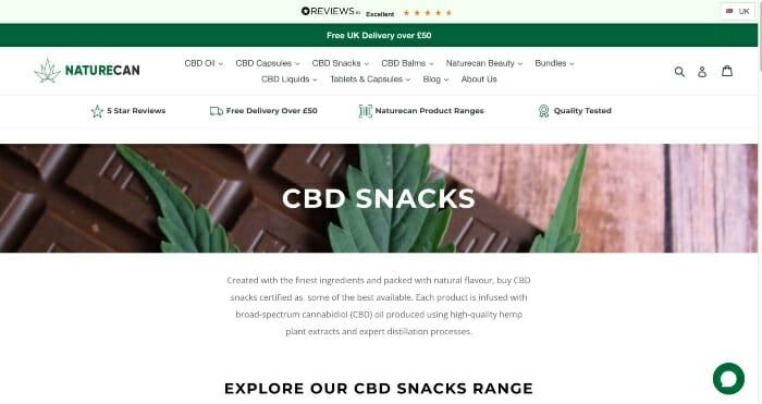 Naturecan CBD Snacks