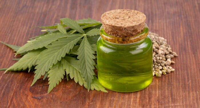 CBD, contrary to what one might think, is not hallucinogenic. It has been studied and results show it might be anti-inflammatory, anti-depressant, anti-anxiety, neuroprotective, etc..