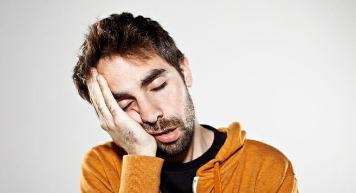 Sleepiness is one of the side-effects for some people after taking CBD.